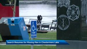 Potential drowning at Chestermere Lake (01:53)