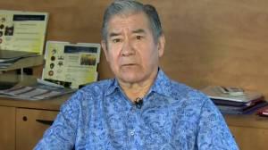 Kahnawake Grand Chief Joe Norton mulls Indigenous policing with Wet'suwet'en