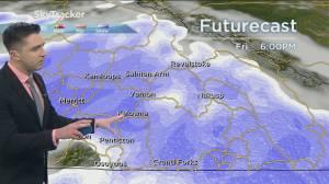 Kelowna Weather Forecast: November 11 (03:29)