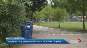 Parents anxious after more syringes found in Toronto school playground