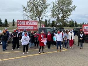 United Nurses of Alberta Day of Action (01:30)