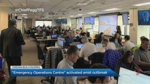 City of Toronto activates Emergency Operations Centre