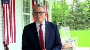 Coronavirus: Ohio governor Mike DeWine on testing positive for COVID-19