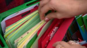 Saskatoon students spreading holiday cheer to care homes with letters, Christmas cards (01:30)