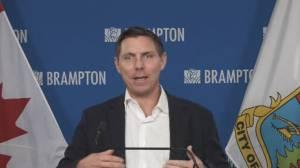 Coronavirus: Brampton mayor addresses city's test positivity rate (03:14)