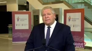 Coronavirus: Ontario's 1st net-new hospital in over 30 years to open in Vaughan, Ont. in coming weeks (01:41)