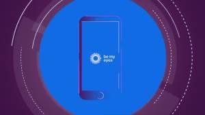 """""""Be My Eyes"""" app brings sight to blind people (03:45)"""