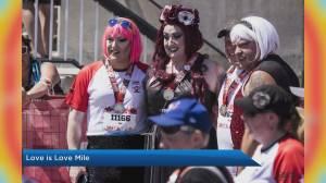 The Love is Love Mile celebrates Calgary Pride milestone (03:20)
