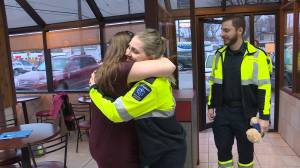 Family First: Birth outside doughnut shop leads to new family of complete strangers