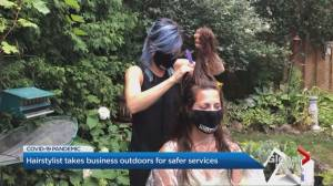 Mississauga hair salon now mobile and exclusively outdoors