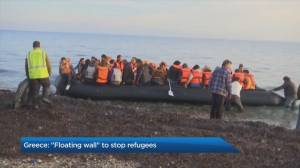 Greece's controversial floating wall plan to block asylum seekers