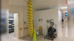 Abbotsford Hospital operating room infection solution
