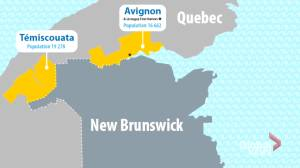 New Brunswick opening to two Quebec counties Aug. 1