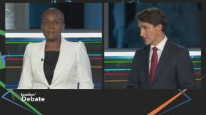 Trudeau's 'feminist' claims slammed in election debate over military sexual misconduct crisis (02:11)