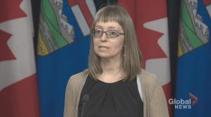 2 new presumptive cases of COVID-19 identified in Alberta (00:53)