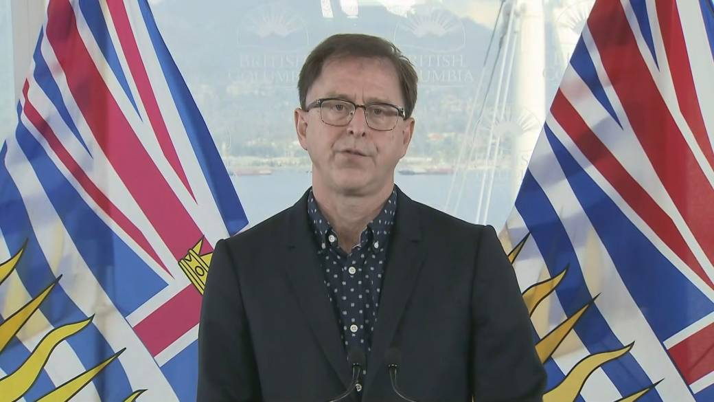 Click to play video: 'Province reviewing options to protect B.C. hospitals from protest'
