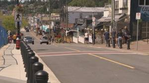 White Rock strip businesses deal with 'one-two punch' of pier damage and COVID-19
