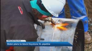 Biden plans to block Keystone XL pipeline (04:51)
