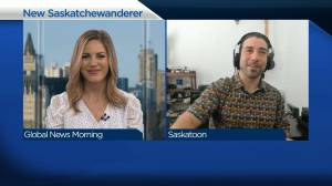 Next Saskatchewanderer looking forward to promoting the province (02:59)
