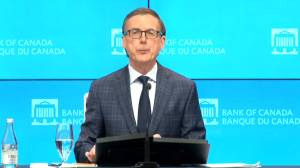 Bank of Canada warns Canadians need to be 'prudent' when taking on household debt (00:43)
