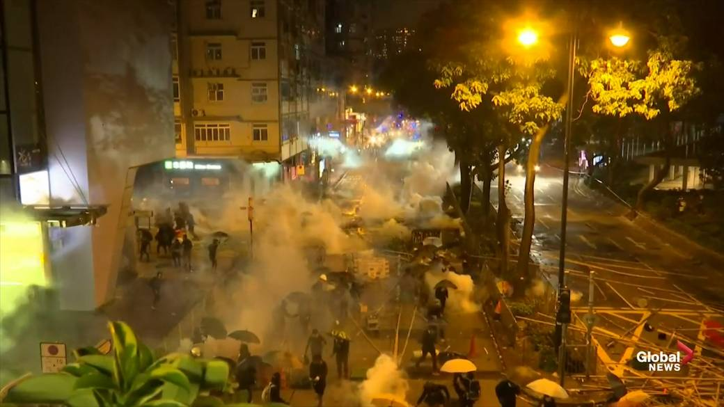 U.S. senate passes bill to support human rights in violence-wracked Hong Kong