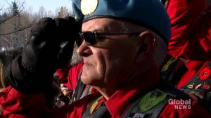 Calgarians commemorate Canadian soldiers on Remembrance Day