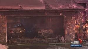 South Edmonton home and garage damaged by fire