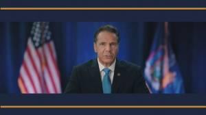Democratic National Convention: N.Y. Gov. Cuomo says COVID-19 shows leadership matters, calls Biden 'America tough' (05:08)
