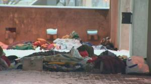 Pandemic exacerbates plight facing homeless Canadians (02:40)