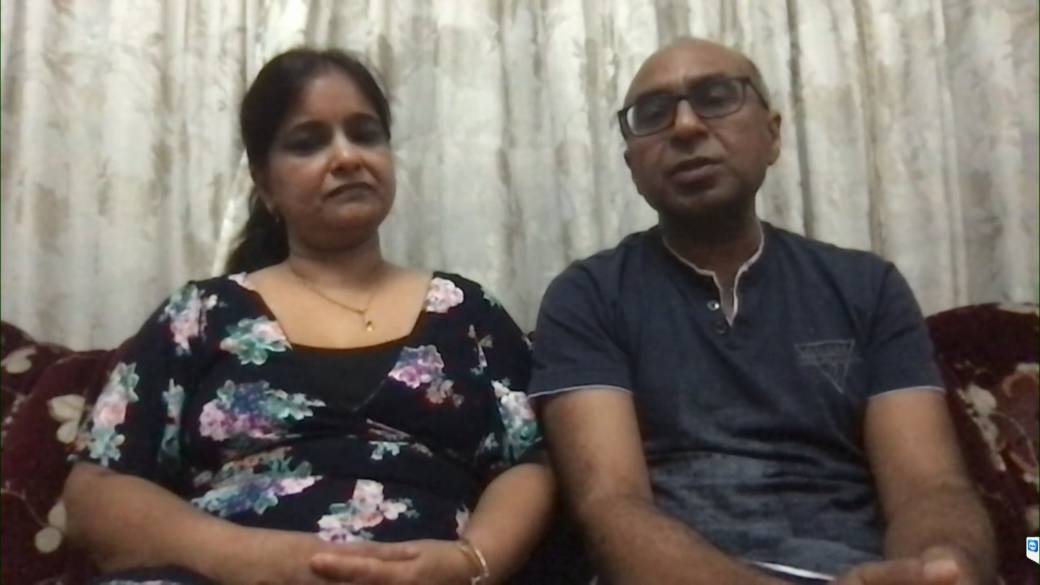 Click to play video: 'Travel restrictions leave Toronto couple stranded in India'