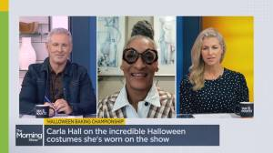 Carla Hall on her favourite candy from 'Halloween Baking Championship' (04:58)