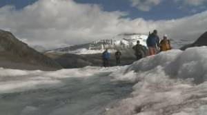 The impact of melting glaciers on Alberta's water supply