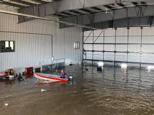 Peace River flood waters recede in Fort Vermilion