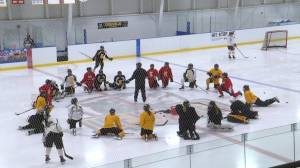 The Kingston Junior Ice Wolves look forward to playing some meaningful games. (01:46)