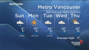B.C. evening weather forecast:  March 20, 2021 (02:26)