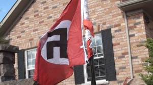 Human rights group calls on Cobourg police to investigate Nazi flag incident as hate crime