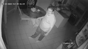 Police release security video of Newmarket break-in suspect