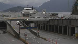BC Ferries slashes major routes, lays off hundreds of workers amid COVID-19 (01:34)