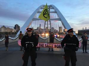 Reaction on Edmonton climate protest from police, mayor, experts