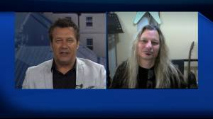 Global News Morning chats with Juno-winning hard rock singer Nick Walsh (07:03)