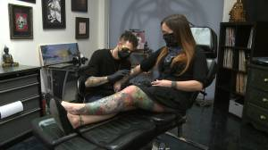 Orono woman competes to be on cover of Inked Magazine (01:43)