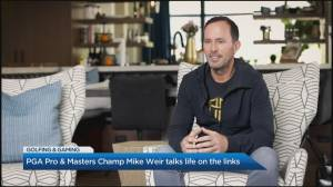 Golf icon Mike Weir talks life on the links (03:52)
