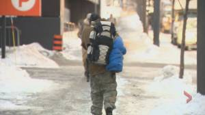 Coronavirus: Montreal's homeless population at higher risk with lockdown, advocates worry (02:17)