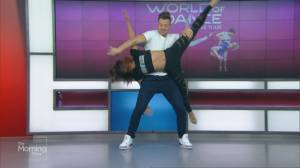 Luka and Jenalyn from 'World of Dance' perform
