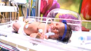 Baby born on 9/11 at 9:11 weighing 9 lb 11 oz.