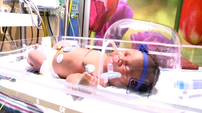 Baby born at 9:11 p.m. on 9/11, weighing 9 lb. 11 oz.