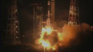Indian rocket experiences technical failure during launch of Earth-observing satellite (01:50)