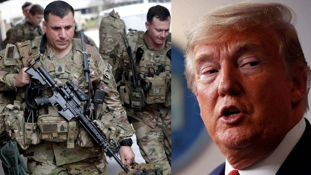 Trump looking to put troops near Canadian border amid coronavirus ...