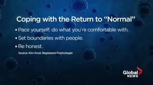 Health Matters: Do you have anxiety about returning to 'normal' life? (03:40)