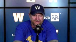 RAW: Blue Bombers Mike O'Shea Interview – Sept. 27 (08:17)